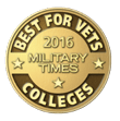 Military Times 2016 Best for Vets badge